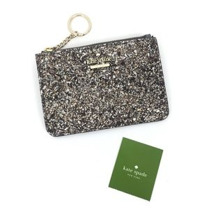 kate Spade Laurel Way Glitter Bitsy wallet